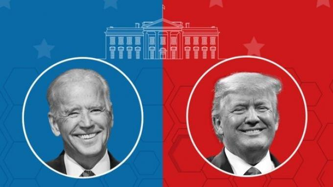 Pemilu AS 2020 Kapan Debat Calon Presiden Donald Trump vs Joe Biden